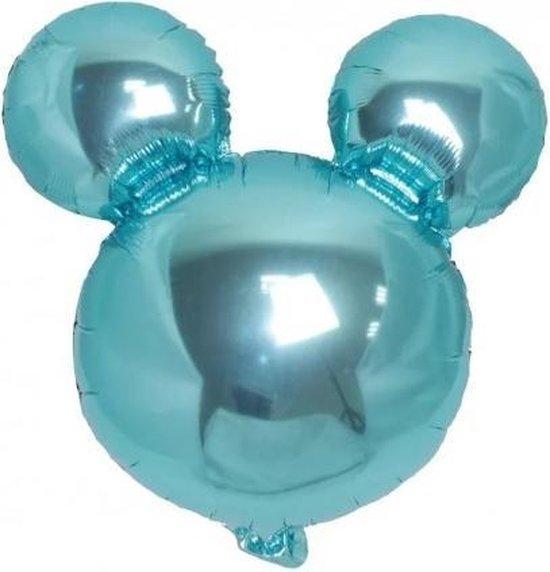 Folieballon Mickey Baby blauw