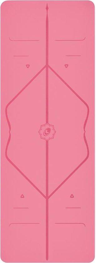 Liforme yoga mat - 185 cm x 68 cm x 0,4 cm - Roze