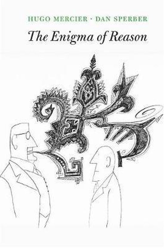 Boek cover The Enigma of Reason van Hugo Mercier (Paperback)