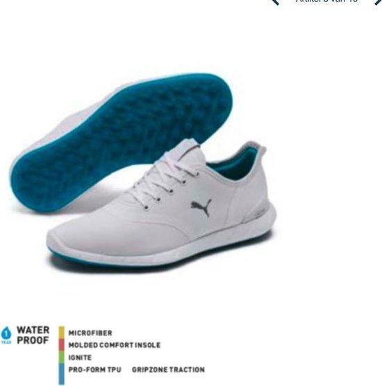 Puma Ignite Statement low Dames golf schoenen wit - maat 38,5