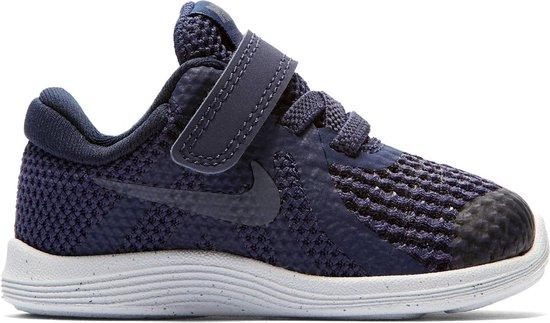 Nike Meisjes Sneakers Revolution 4 (tdv) Blauw Maat 27