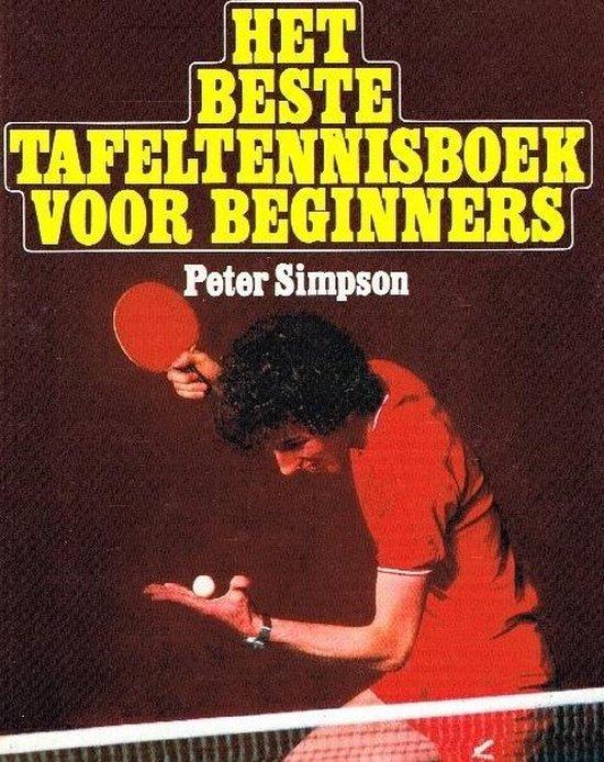 Beste tafeltennisboek voor beginners - Simpson  