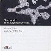Shostakovich: Sonata For Violin Op.134; Sonata for Viola Op.147