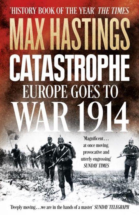 Boek cover Catastrophe van Max Hastings (Onbekend)