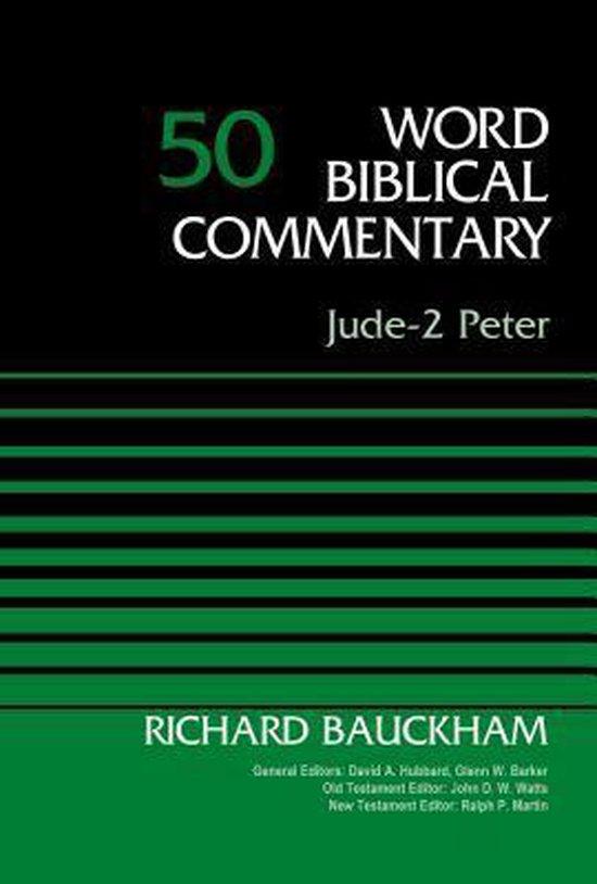 Boek cover Jude-2 Peter, Volume 50 van Dr. Richard Bauckham (Hardcover)