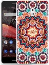 Nokia 2.1 Hoesje Retro Mandala