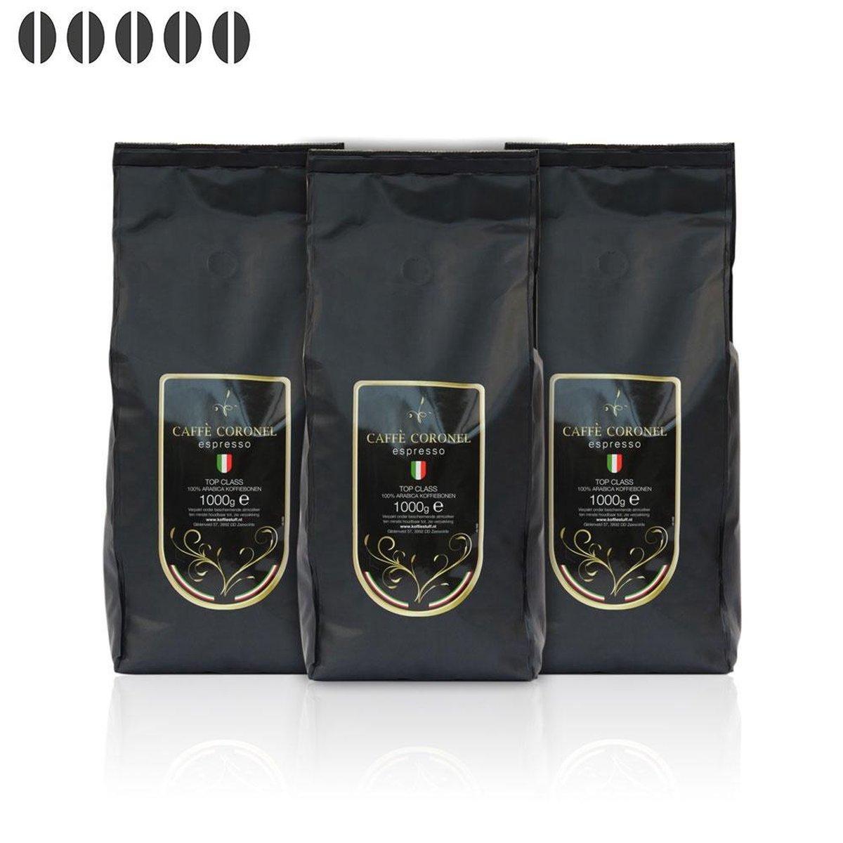 Caffe Coronel Top Class 3 kg koffiebonen - Caffe Coronel