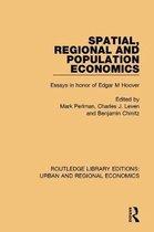 Spatial, Regional and Population Economics