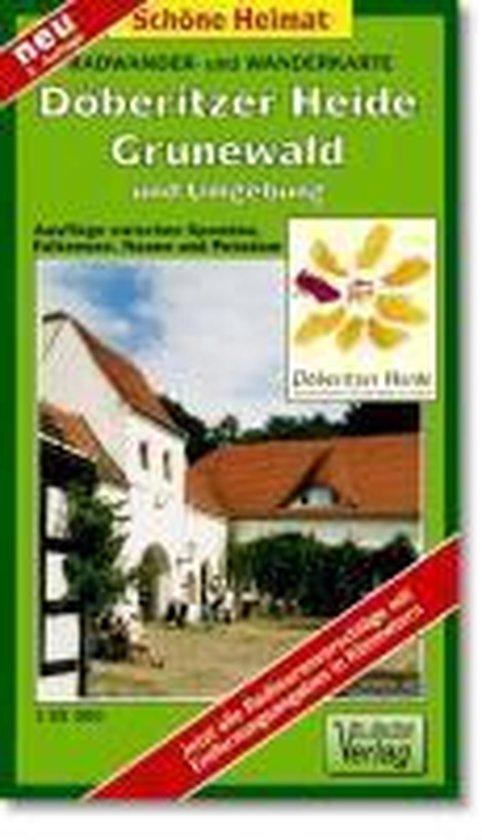 Radwander- und Wanderkarte Döberitzer Heide, Grunewald und Umgebung 1 : 35 000