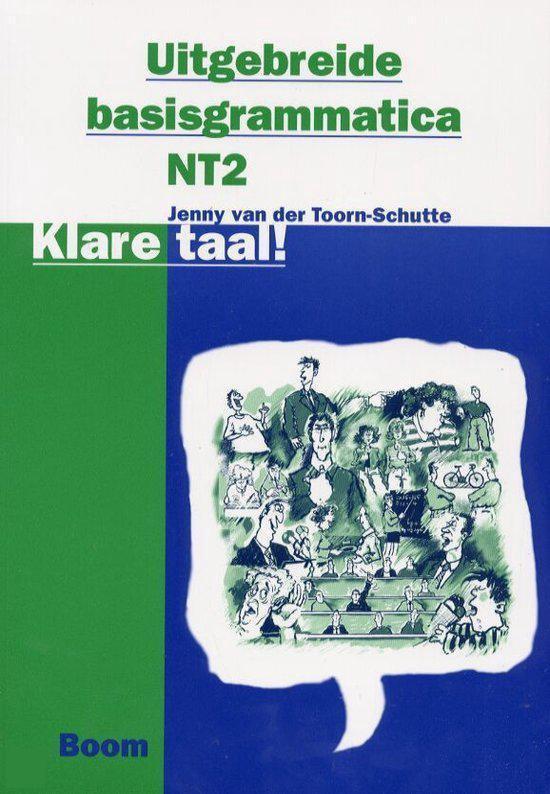 Boek cover Klare taal ! + CD-ROM van Jenny van der Toorn-Schutte (Paperback)