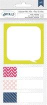American Crafts Sticky Notepads Patterned