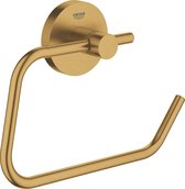GROHE Essentials Toiletrolhouder - zonder deksel - cool sunrise geborsteld (mat goud) - 40689GN1