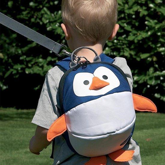 Clippasafe Peuter Rugzak met Looplijn - Pinguïn