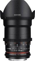 Samyang 35mm T1.5 Vdslr As Umc Il - Prime lens - geschikt voor Samsung NX