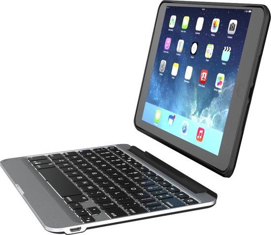 ZAGG Slim book Bluetooth Zwart toetsenbord voor mobiel apparaat