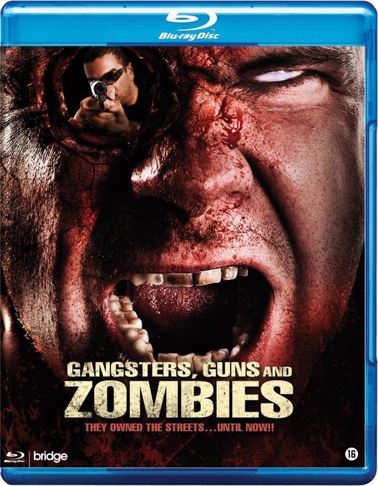 Cover van de film 'Gangsters Guns And Zombies'