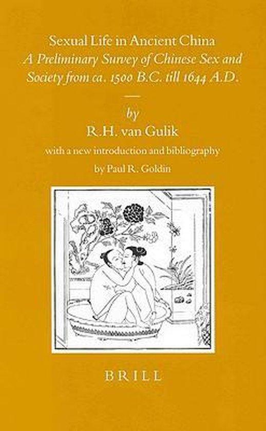 Boek cover Sexual Life in Ancient China van R.H. Van Gulik (Hardcover)
