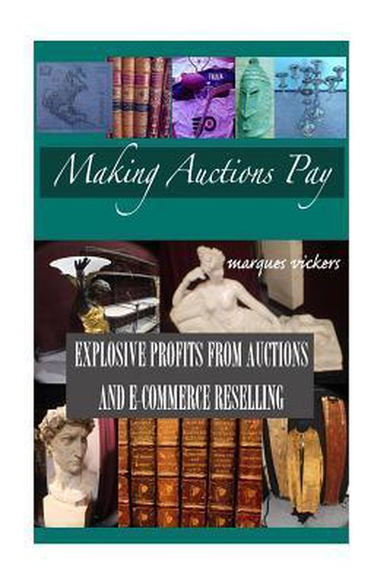 Boek cover Making Auctions Pay van Marques Vickers (Paperback)