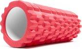 #DoYourFitness - Fascia rol - »Suyana« - foam roller voor pilates en zelfmassage - L35cmxD15cm - rood