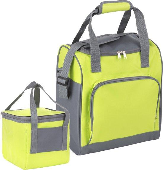 Basis Sterke Koeltas Set | 25 + 10 Liter Coolerbag | Groen