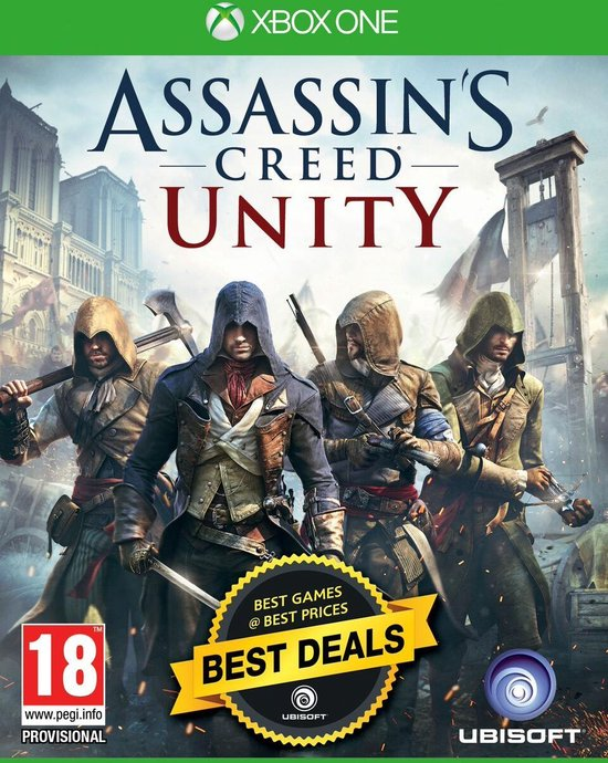 Assassin's Creed: Unity - Greatest Hits - Xbox One - Ubisoft