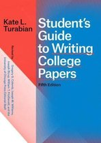 Student`s Guide to Writing College Papers, Fifth Edition