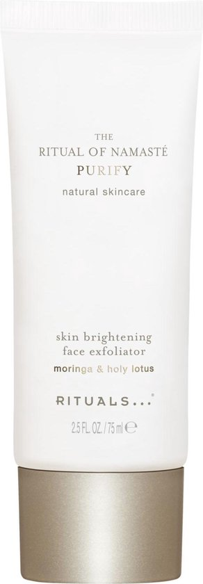 RITUALS The Ritual of Namasté Purify Skin Brightening Face Exfoliator Gezichtsscrub - 75 ml