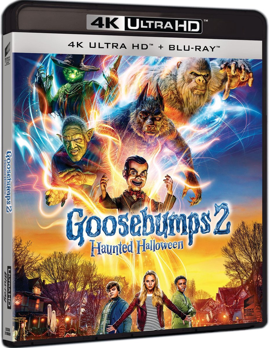Goosebumps 2: Haunted Halloween (4K Ultra HD Blu-ray)-