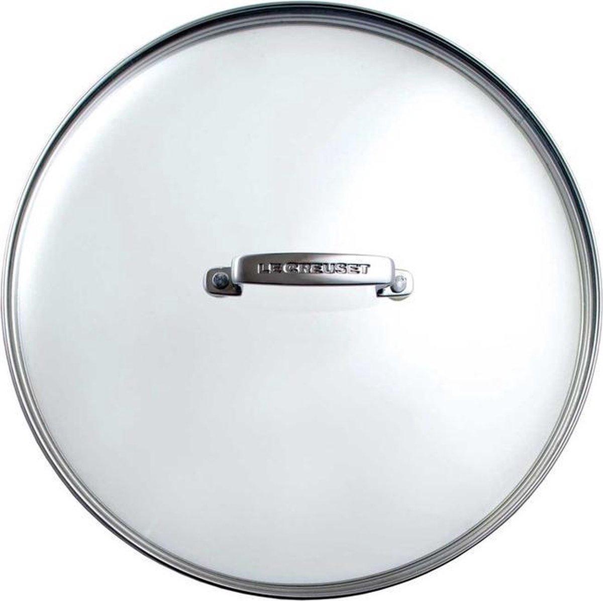 Le Creuset - Glazen deksel - Glas -   30 cm