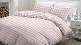 Snoozing Mila - Dekbedovertrek - Eenpersoons - 140x200/220 cm + 1 kussensloop 60x70 cm - Pink