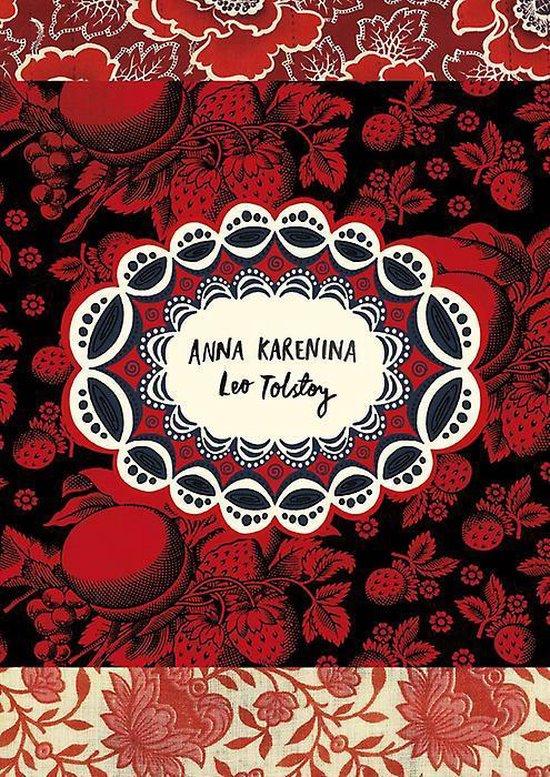 Boek cover Anna Karenina (Vintage Classic Russians Series) van Leo Tolstoy (Paperback)