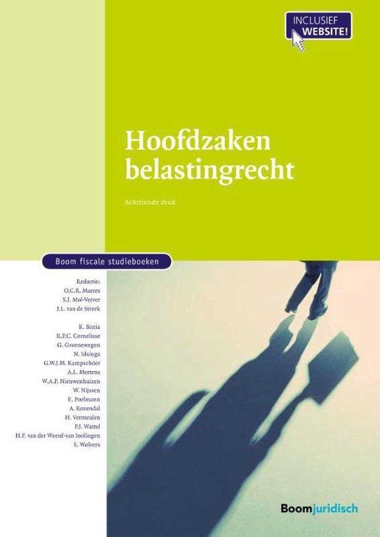 Boom fiscale studieboeken - Hoofdzaken belastingrecht - none | Readingchampions.org.uk