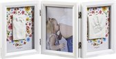 Baby Art My Baby Touch Double Print Frame Carolyn Style - 2018