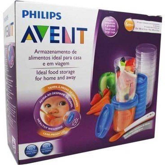 Philips Avent SCF721/20 Bewaarbekers voor voeding - 180 ml en 240 ml - 20 Stuks