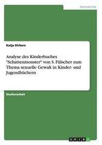 Analyse des Kinderbuches Schattenmonster von S. Fulscher zum Thema sexuelle Gewalt in Kinder- und Jugendbuchern