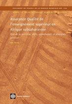 ASSURANCE QUALITE DE L'ENSEIGNEMENT SUPERIEUR EN AFRIQUE SUBSAHARIENNE (IN FRENCH)