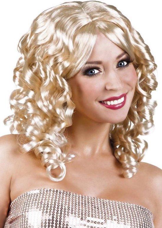 Pruik Cocktail - Blond