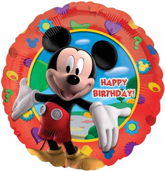 AMSCAN - Happy Birthday Mickey ballon - Decoratie > Ballonnen