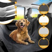 RelaxPets - Autodeken - Achterbank deken - Achterbank Beschermhoes - Hondendeken - Kofferbak Bescherming - Waterafstotend - Hond - 135x145cm