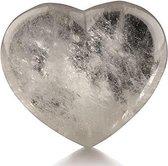 Ruben Robijn Bergkristal hart 30 mm edelsteen