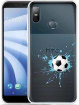 HTC U12 Life Hoesje Soccer Ball