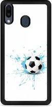 Huawei Y6 2019 Hardcase hoesje Soccer Ball