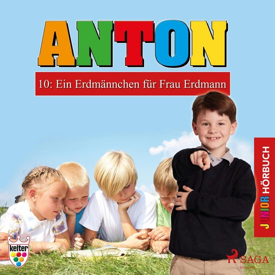 Boek cover Anton, 10: Ein Erdmännchen für Frau Erdmann (Ungekürzt) van Heike Wendler (Onbekend)