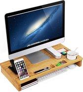 Monitorstandaard - Scherm Verhoger voor Laptop en PC - Bureau Beeldscherm Verhoging