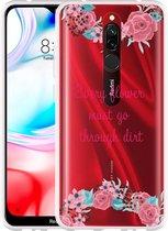 Xiaomi Redmi 8 Hoesje Every Flower