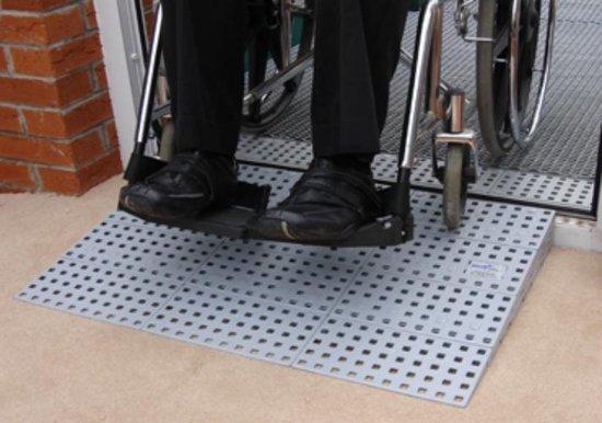 Drempelhulp Set 3 buiten 5,6 tot 7,2 cm (H) x 75 cm (B) - HomeCare Innovation BV