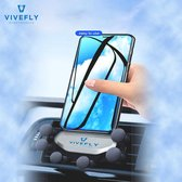 Mobiele Telefoon Houder Voor Aan Je Auto Ventilatierooster - Ventilatie - Rooster - Ventilator - GSM - Mobile Phone Holder Car Air Vent - 4'' tot 6,8'' inch - Apple iPhone - Asus - Sony Xperia - Nokia - Samsung - Universeel