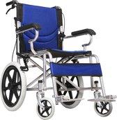 Lichtgewicht compact opvouwbare rolstoel