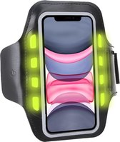 Sport Armband Sportband Hardlopen met LED Verlichting voor iPhone 11 / 11 Pro Max / 11 Pro / XR / XS Max / XS / X / Samsung Galaxy A50 / A70 / A40 / A20e / A10 / S10 / S10e / S10 Plus