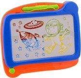 Johntoy Crea Kids Magnetisch Kleuren Tekenbord Oranje/blauw